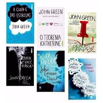 Kit John Green ( 6 Livros) A Culpa É Das Estrelas + 5 - Novo