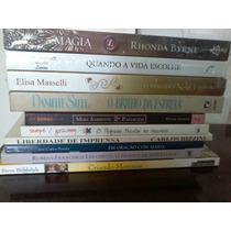Lote 10 Livros Atuais Novos E Semi Bestseller Fotos Reais