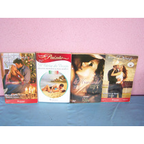Livros Harlequin - Coleção Desejo - 4 Livros Romances.