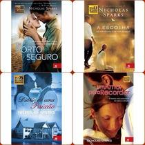 Super Coleção Nicholas Sparks 4 Livros Lacrados Frete Grátis