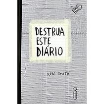 Livro - Destrua Este Diário - Capa Silver Tape - Keri Smith