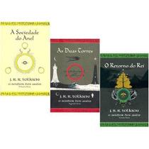 Kit Livros Senhor Dos Anéis - Novas Capas - J R R Tolkien
