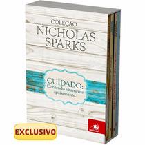 Box Coleção Nicholas Sparks - Edição Econômica (4 Livros) !