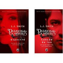 2 Livros - Col.diários Do Vampiro: Caçadores - Volumes 8 E 9