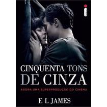 Livro 50 Cinquenta Tons De Cinza - Capa Do Filme - Lacrado