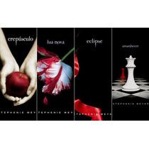 Livros - Saga Crepúsculo (4 Volumes)