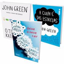 Kit 3 Livros - John Green - A Culpa É Das Estre-frete Grátis