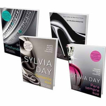 Kit-4 Livros Série Crossfire Para Sempre Sua Sylvia Day