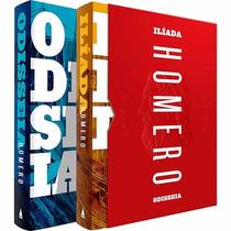 Box Homero - Odisséia E Ilíada (2 Livros) #