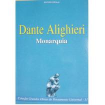 Livro - Dante Alighieri - Monarquia