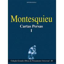 Livro - Montesquieu - Cartas Persas 1 - Livro Novo!