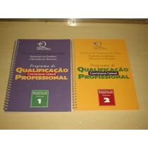 Lote De 7 Livros Programa De Qualificação Proficional
