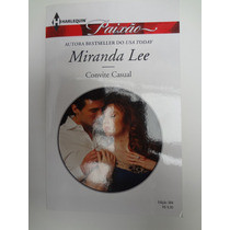 Livro Harlequin Paixão Miranda Lee Convite Casual Nº 384