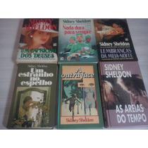 Lote 6 Livros Do Sidney Sheldon