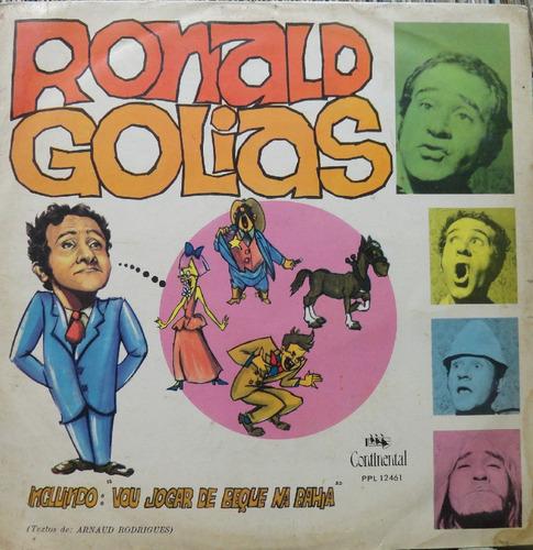 Ronald Golias Vou Jogar De Beque Na Bahia - Lp Continental