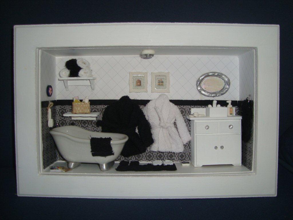 decoracao quadro no banheiro:De Banheiros Lindos Quadros Com  #161A20 1024 768