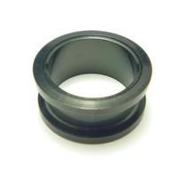 Piercing Alargador Aço Cirúrgico Black 16.0 Mm Frete Grátis