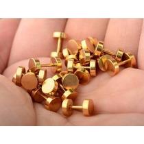2 Falsos Alargadores Aço Inox 6mm, 8mm, 10mm, 12mm E 14mm