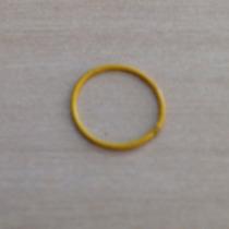 Piercing Nariz Argola Aço Cirúrgico Amarelo
