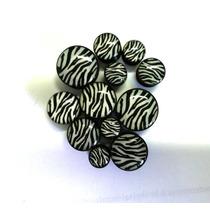 Brinco Alargador De Orelha Zebra / Zebrinha -