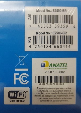 Roteador Wireless-n 600mbps Dual Band + Cisco/ Linksys E2500