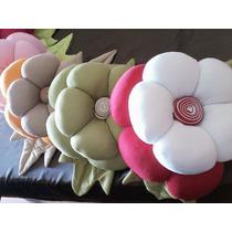 Almofada Flor Decorativa - Lindas Cores!