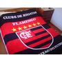 Manta Flamengo Microfibra - Antialérgica, 1,80 X 2,20m
