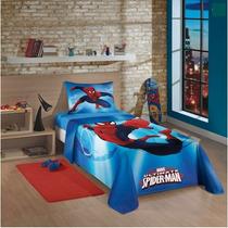 Jogo De Cama Infantil Spider Man Ultimate Homem Aranha