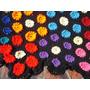 Colcha De Croche Em Lã-maravilhosa - Feita À Mão