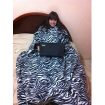 Cobertor Com Mangas Com Bolso Pés - Liquidação De Inverno -