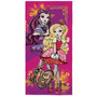Toalha De Banho Felpuda Ever After High Apple E Raven Lepper