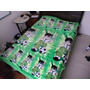 Manta Ben 10 Microfibra - Antialérgica, 1,60 X 1,90m