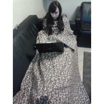 Cobertor Com Mangas - King Size - Bolso Para Os Pés