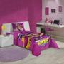 Jogo De Cama Infantil Barbie Super Princesa Lepper