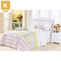 Kit Enxoval Romantic King 100%algodao 5 Pc-enxovais Aquarela