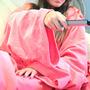 Cobertor Com Mangas Em Soft - Adulto - Rosa