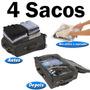 04 Saco A Vácuo Protetor E Organizador Trip Bag Ordene 60x40