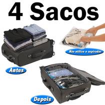 04 Saco A Vácuo Protetor E Organizador Trip Bag 60x40 Ordene