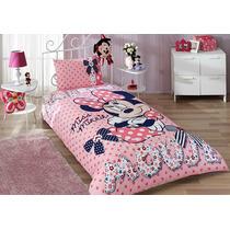 Disney Minnie Mouse Dream Jogo De (lençol) Cama / Licenciado
