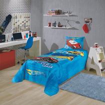 Colcha Infantil Hot Wheels Original 044156 Disney Lepper