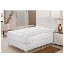 Pillow Top Queen 100% Fibras Siliconizadas - Plumasul