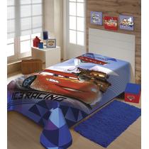 Cobertor Carros Disney Super Macio E Grosso Raschel Jolitex