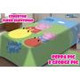 Cobertor Jolitex Infantil Disney Peppa Pig 1,50x2,00solteiro