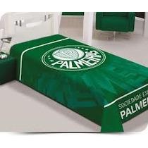 Cobertor Raschel Jolitex Time Palmeiras Casal 1,80x2,20