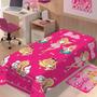 Manta Infantil Mattel Soft Barbie Fashion - Jolitex