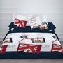 Capa Edredom +almofada Solteiro From London-bandeira Inglesa