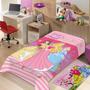 Manta Infantil De Microfibra Princesas - Jolitex