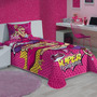 Colcha Infantil Barbie Super Princesa - Lepper