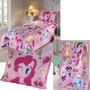 Kit Colcha + Toalha + Porta Travesseiro My Little Pony Ponei