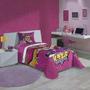 Edredom Infantil Personagens Lepper - Barbie Super Princesa
